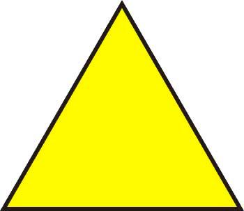 el perimetro de un triangulo: