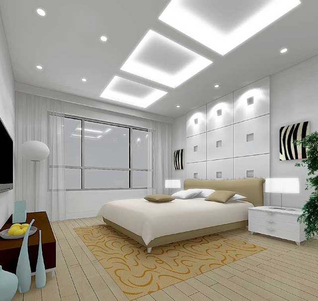 Unique Ceiling Bed Rooms Ideas