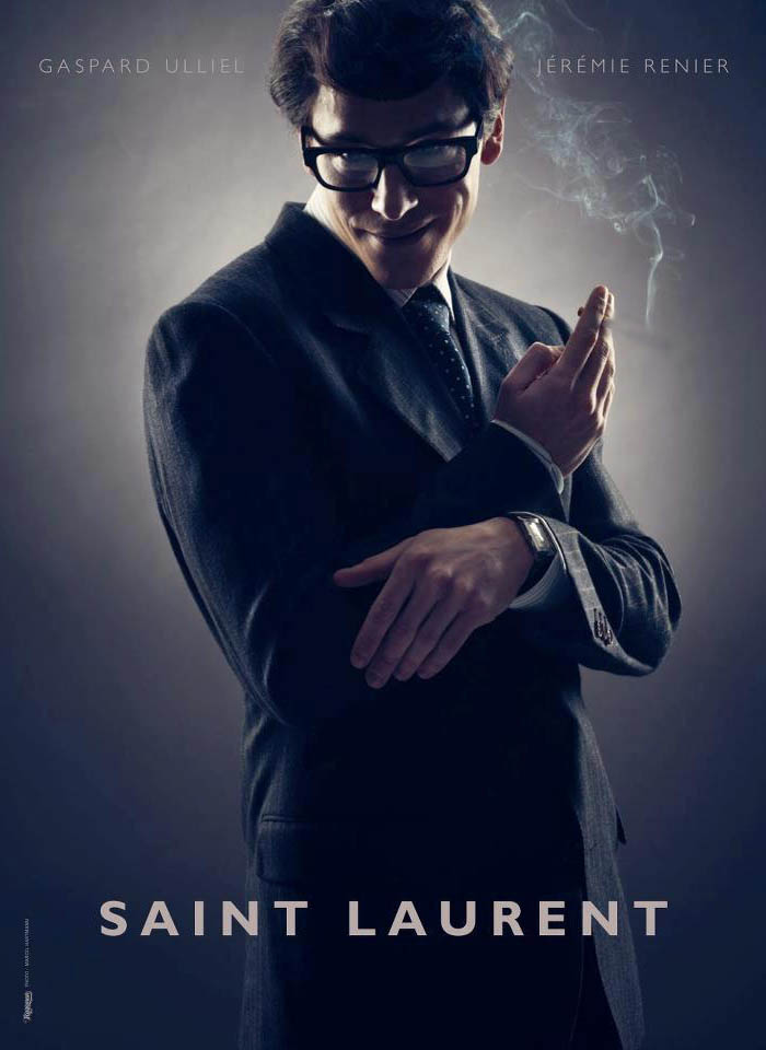 A GUERRA DE YVES SAINT LAURENT_Gaspard Ulliel_filme de YVES SAINT LAURENT_foi divulgado o poster do filme de YVES SAINT LAURENT_