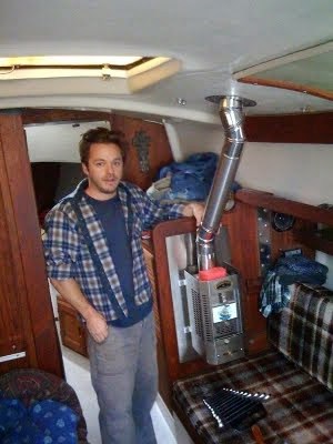 Captain Curran's sailing blog: How to install a Dickinson Marine ...