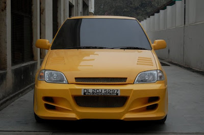 suzuki esteem kuning 1996 modifikasi