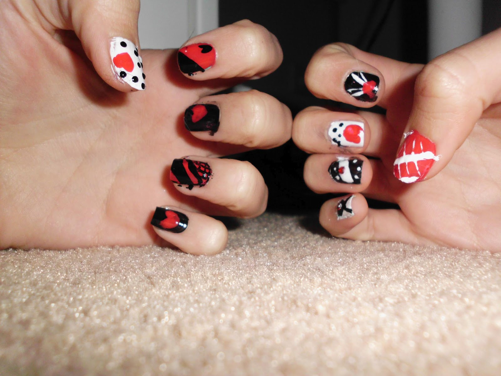 Everything Kikka: Queen of Hearts Nails