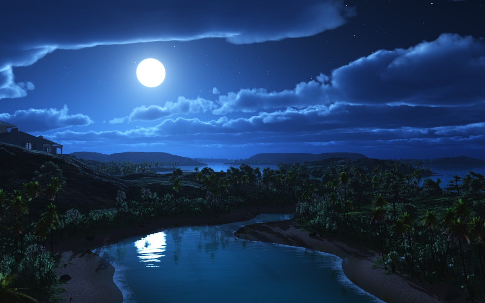 Download Moonlight Night Wallpapers Most Beautiful