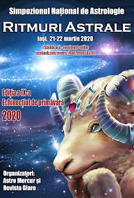 Ritmuri Astrale - Iasi, 21-22 martie 2020, vizionare eveniment online, #StămAcasă