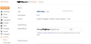 mengubah domain blogspot ke .com