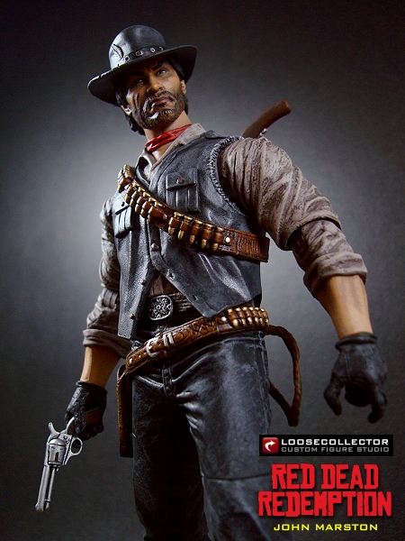 Loosecollector Custom Action Figures Official Website John Marston