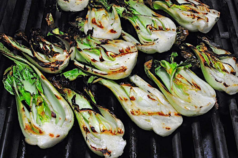 ... sweet soy glaze recipes dishmaps grilled bok choy with sweet soy glaze
