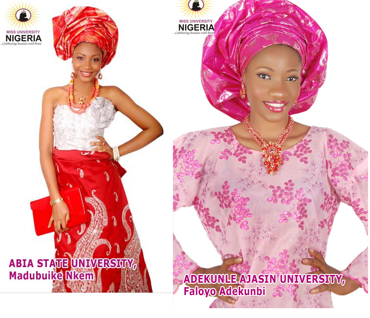 Miss university Nigeria dresses