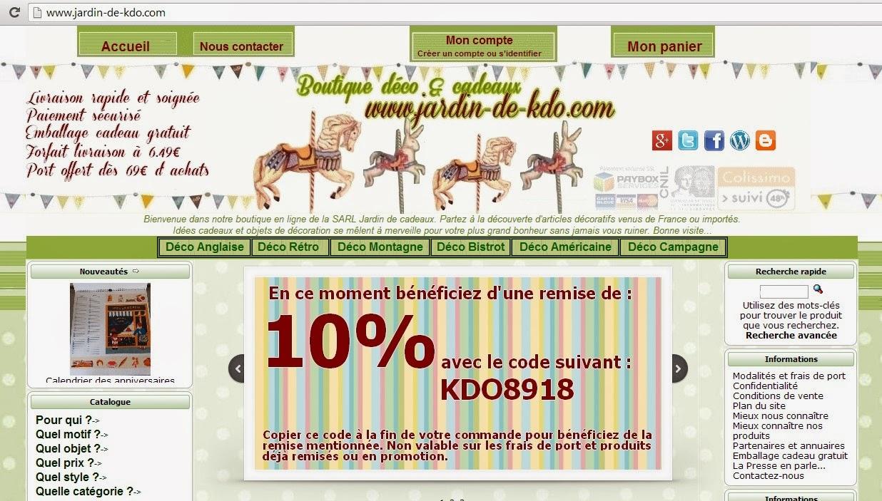 D coration et cadeaux le blog de la boutique en ligne for Boutique jardin en ligne