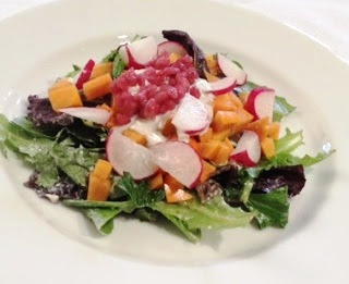 gjelina persimmon salad recipe