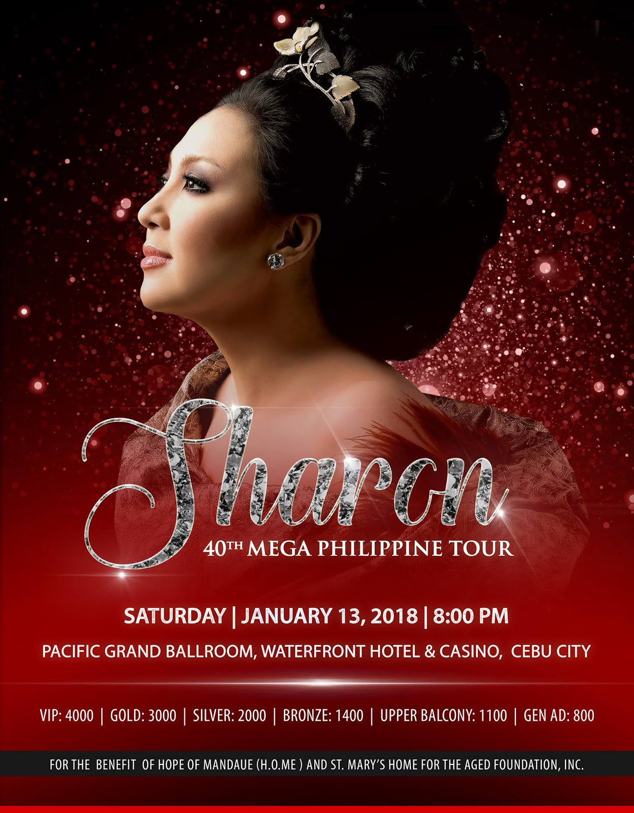 Cebu Tour on Jan. 13, 2018