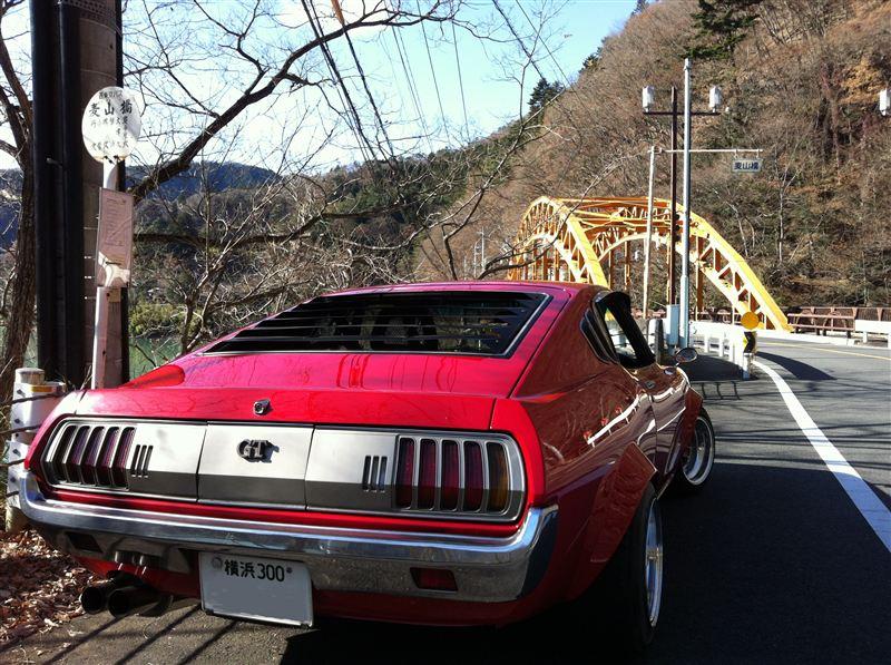 klasyki, nostalgic, oldschool, stara motoryzacja, z duszą, Toyota Celica, old car, zdjęcia, rear, tył, red, czerwony, TA27, TA28, TA35, RA25, RA28, RA35, RA29
