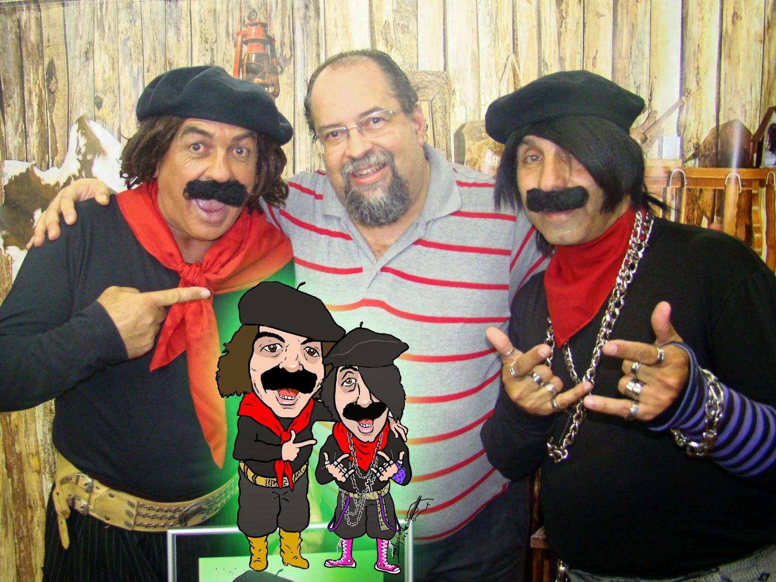 Guri de Uruguaiana, Desenhista Marcelo Lopes de Lopes e Licurgo
