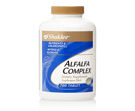 kebaikan alfalfa shaklee