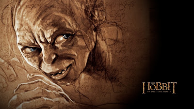 Gollum The Hobbit An Unexpected Journey Movie Wallpaper
