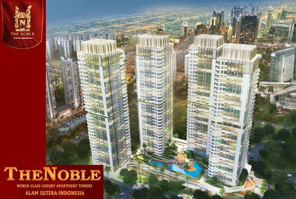 Pilihan Unit Apartemen The Noble Alam Sutera Yang Dijual