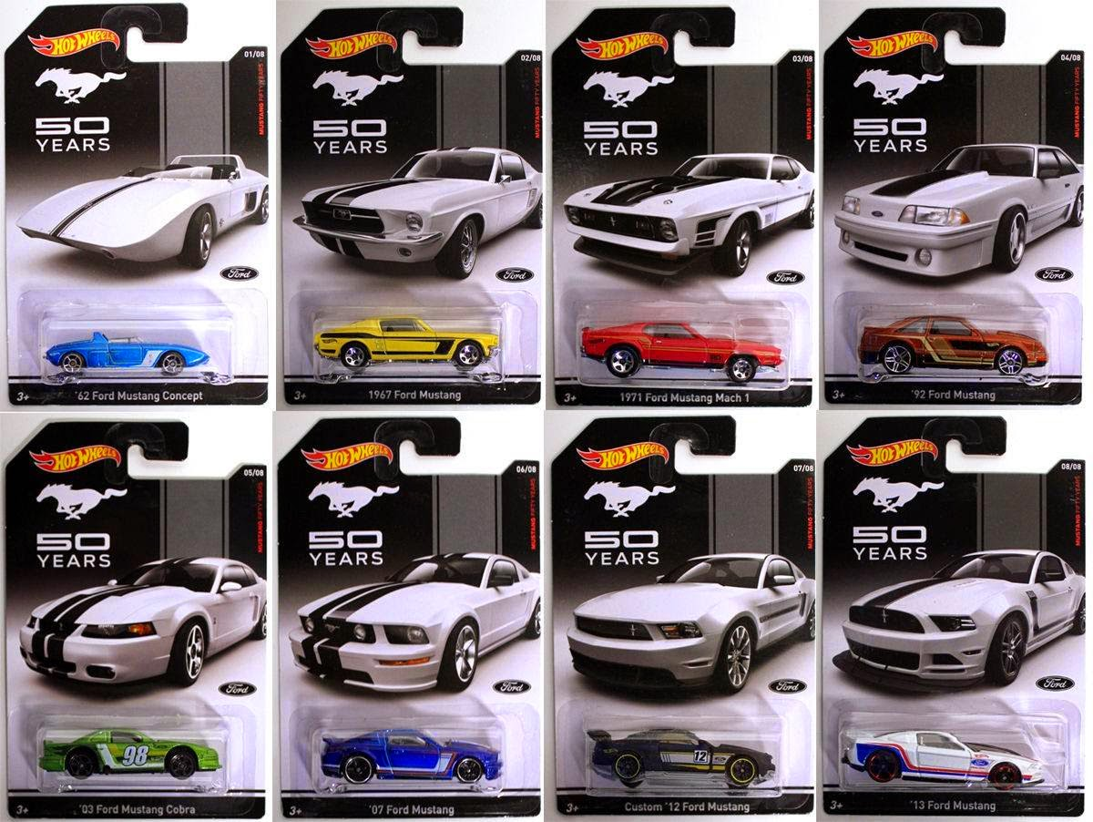 hot wheels 2014 ford mustang 50 years. Black Bedroom Furniture Sets. Home Design Ideas