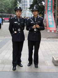 china lady cops
