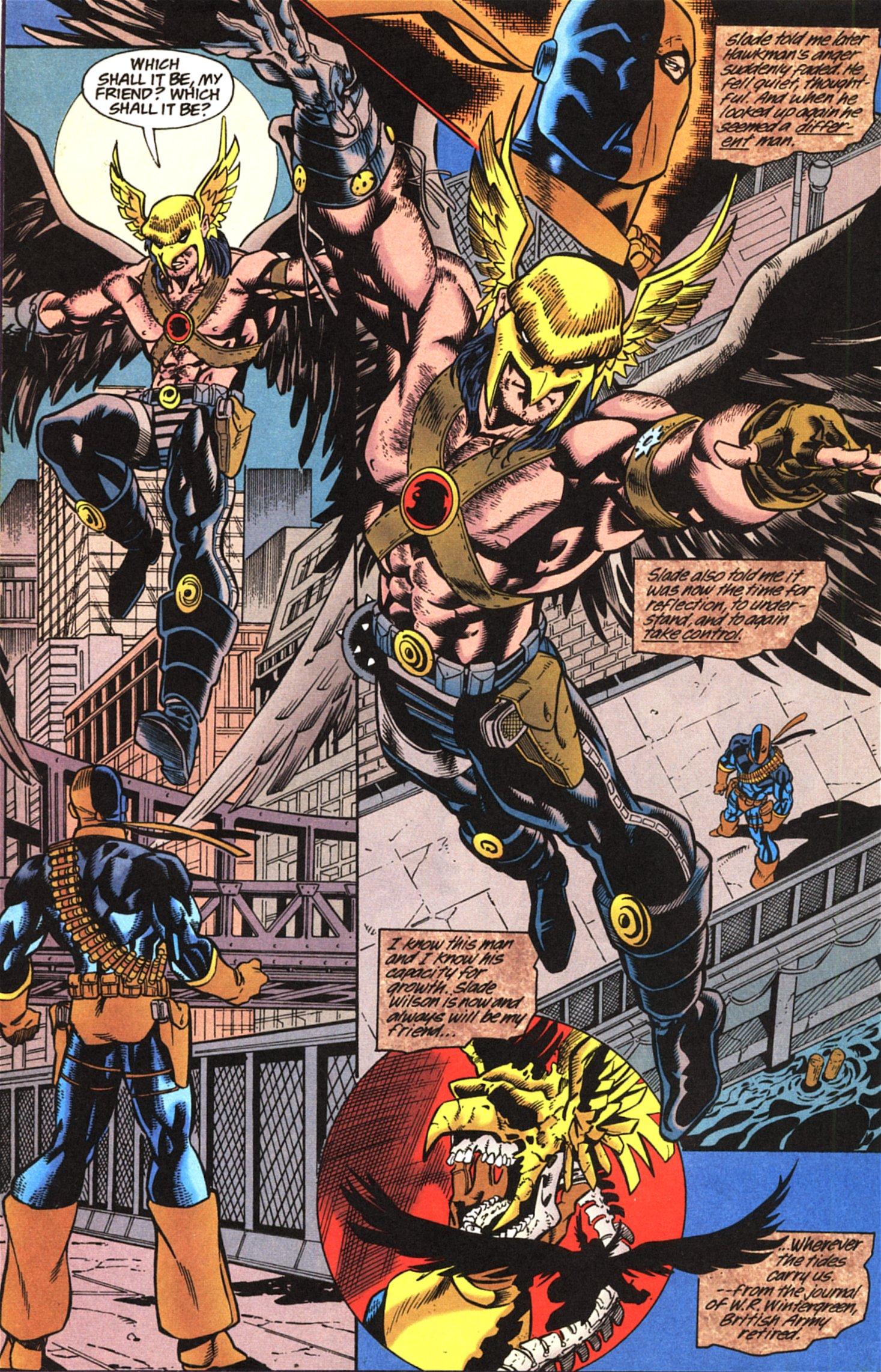 Deathstroke (1991) Issue #52 #57 - English 23