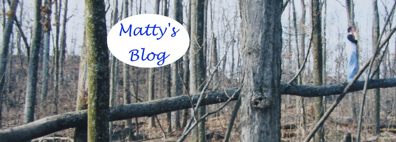 Matty&#39;s Blog