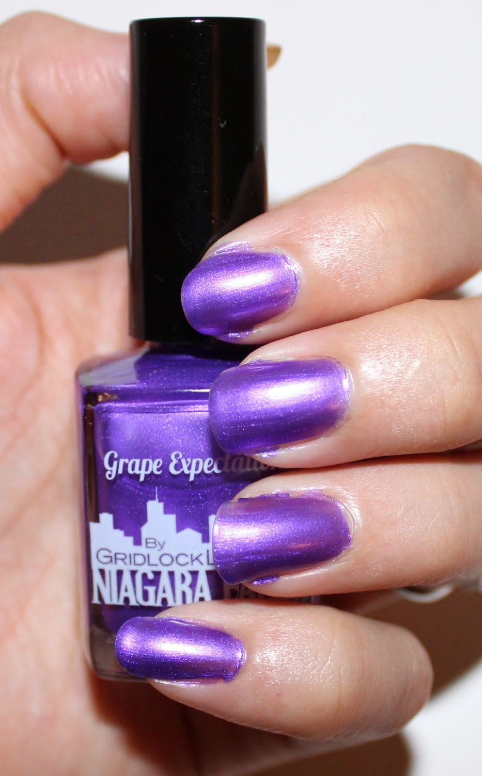 Gridlock Lacquer Grape Expectations