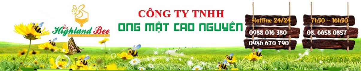 MẬT ONG NGUYÊN CHẤT HIGHLAND BEE