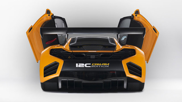 McLAREN 12C CAN-AM EDITION RACING CONCEPT back open