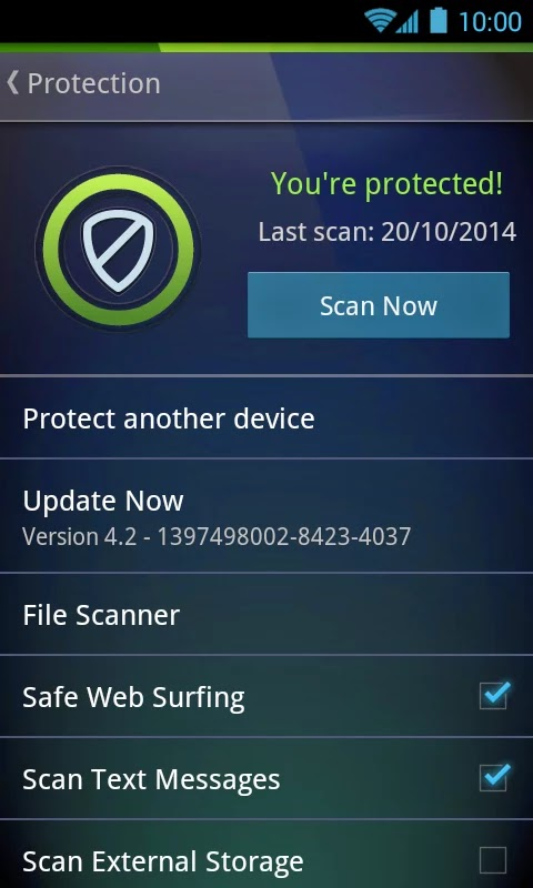AntiVirus PRO Android Security v4.3.1.1