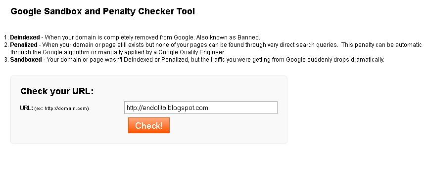 cara mudah mengatasi google sandbox, cara keluar dari penalty google sandbox, pengertian google sandbox, mengajukan permohonan ke google untuk sandbox  endolita.blogspot.com