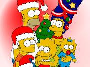 Imagenes de dibujos animados: Simpsons simpsons christmas wallpaper