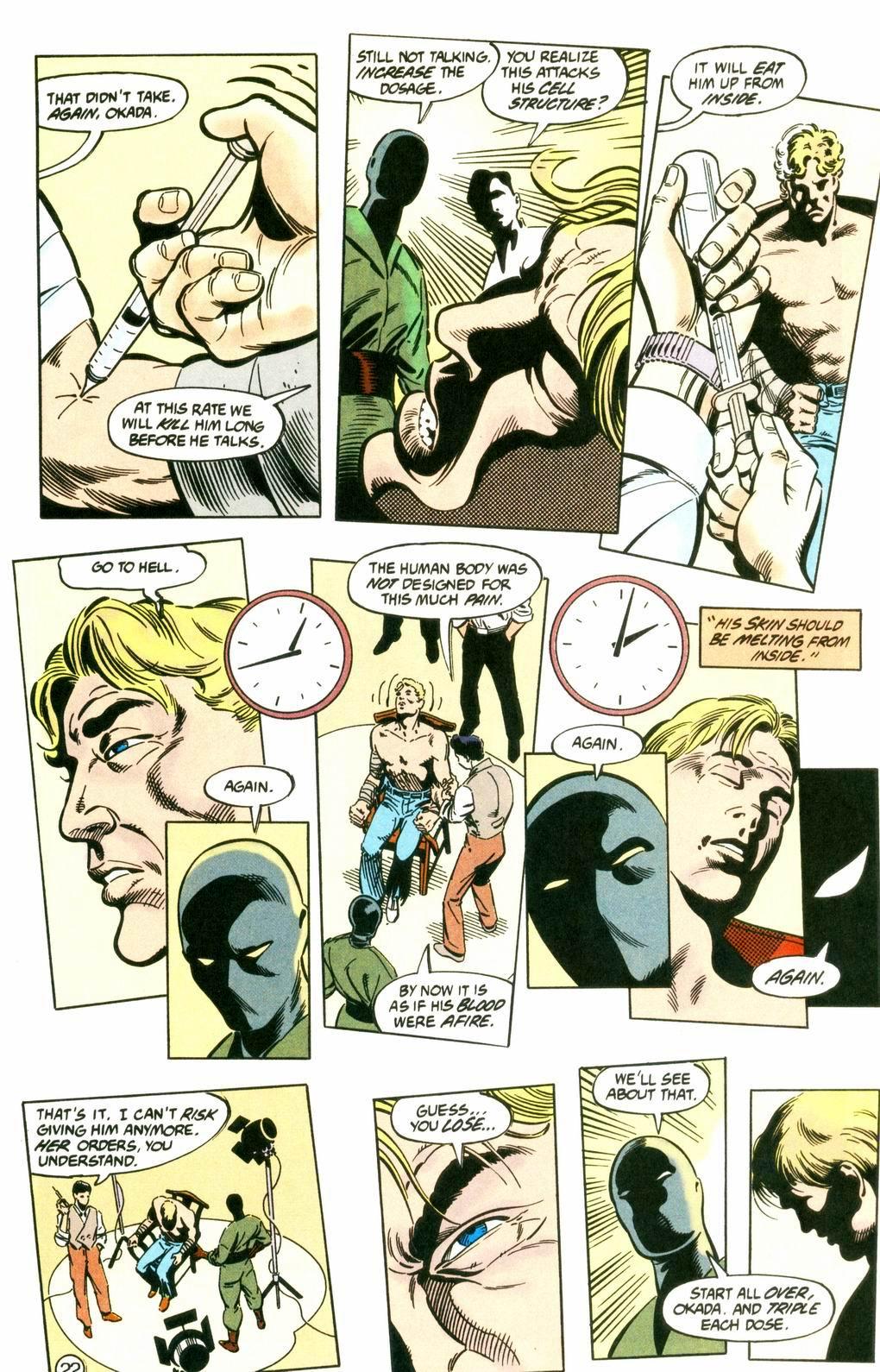 Deathstroke (1991) Issue #8 #13 - English 22