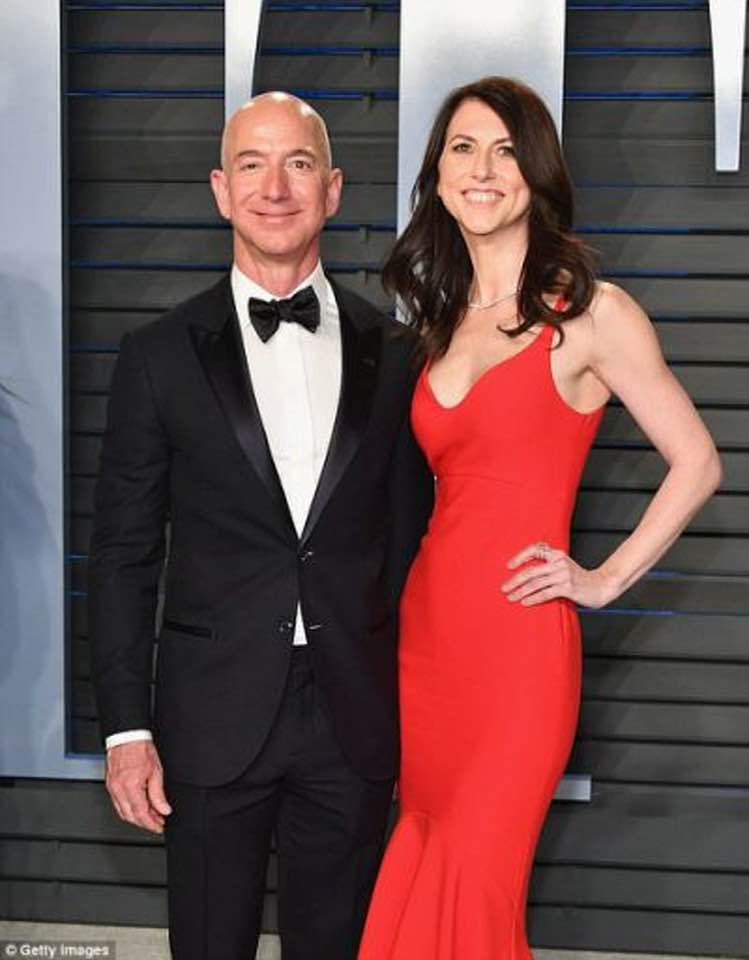 JEFF BEZOS: THE $35 BILLION DIVORCE PAYOUT.