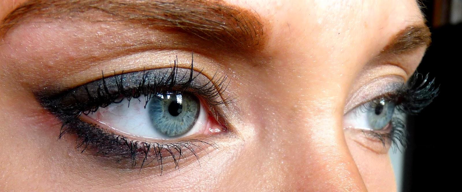 Autumn eye makeup look beauty youwishyou makeup AW14 beauty