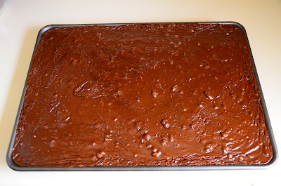 now is it the best chocolate sheet cake ever ummmm