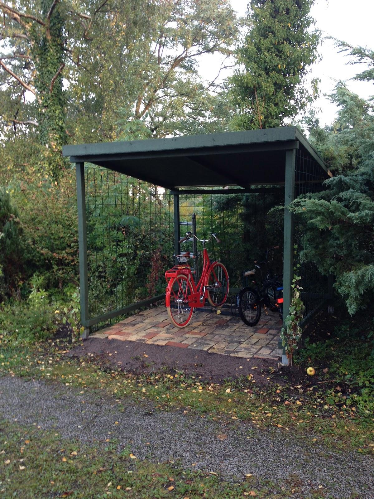 Cykelskjul säljes