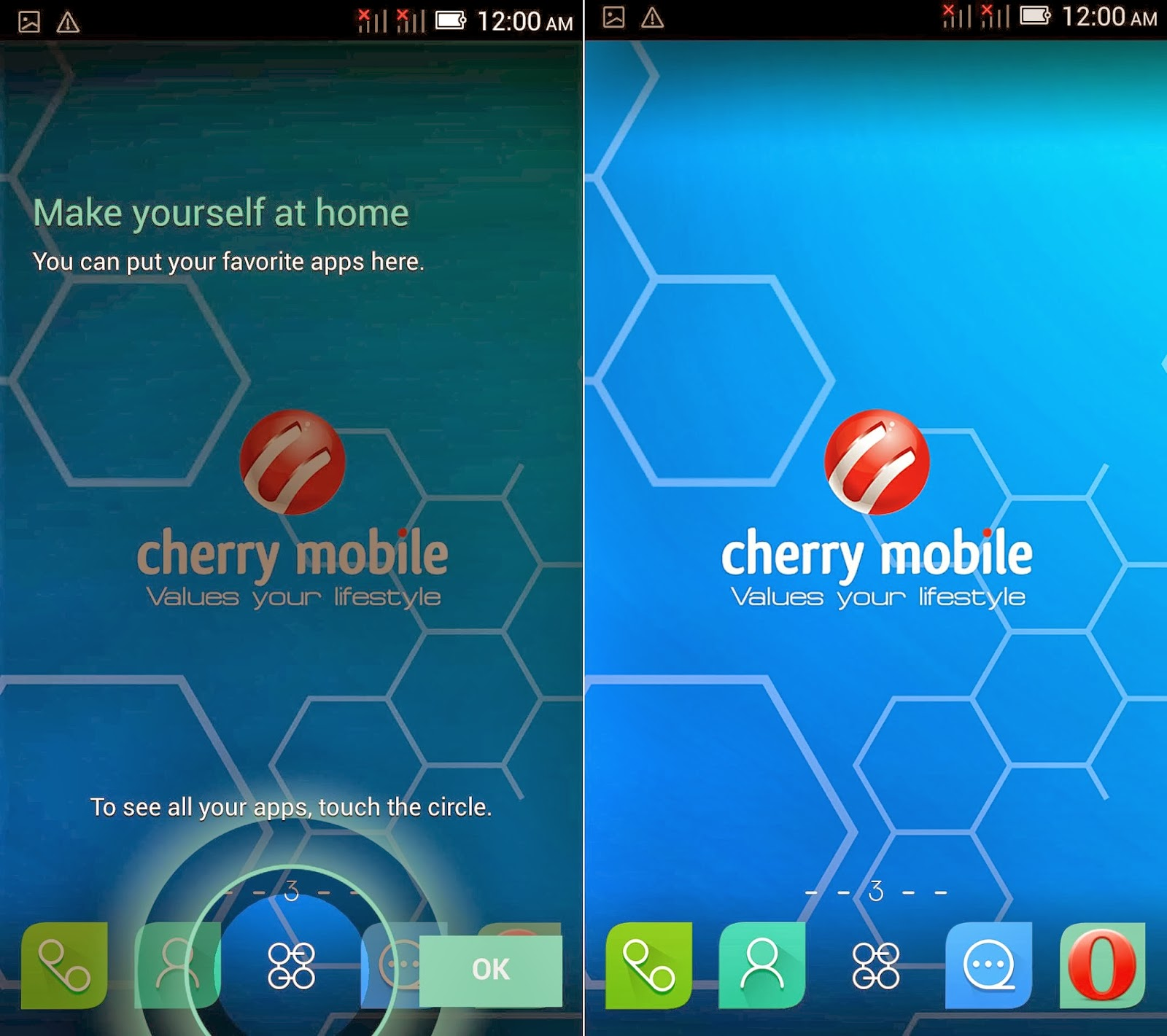 Cherry Mobile Cosmos Z2 Review Homescreen