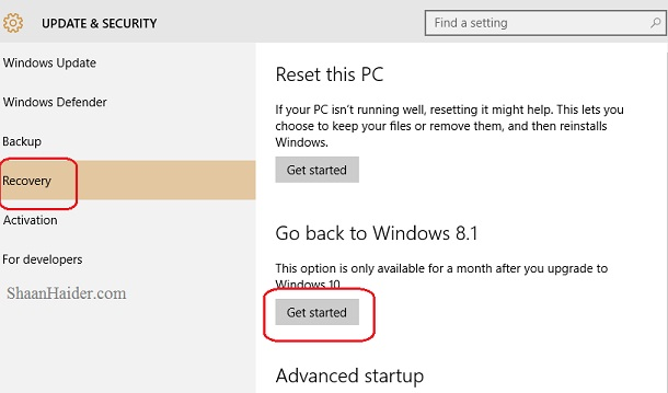 HOW TO  Downgrade from Windows 10 to Windows 8.1 or Windows 7