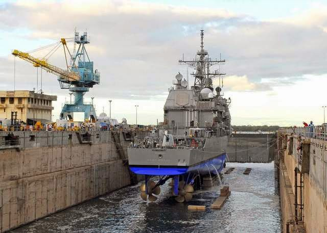 Military News - Navy cruisers go into 'laid up' status at Pearl Harbor