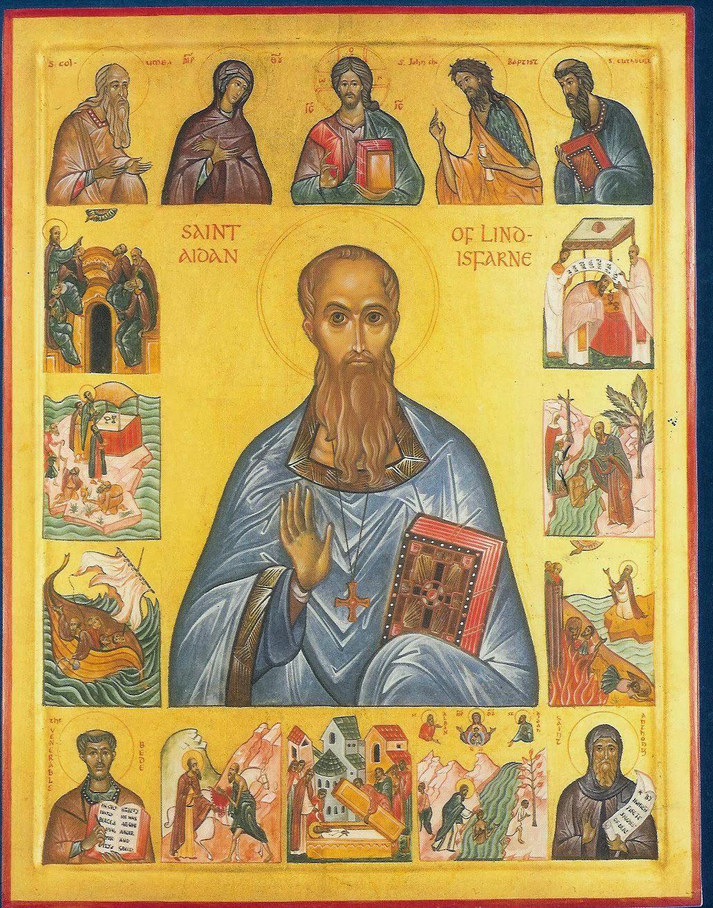 Ο άγιος Aidan