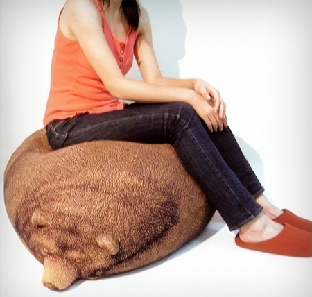 Sleeping Bear Bean Bag Seen On www.coolpicturegallery.us