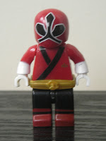 Power Rangers Super Samurai Mega Bloks Metallic Red Ranger 03