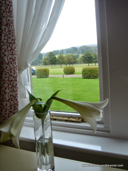 view from Lismore Suite at Devonshire Arms Country House Hotel & Spa in Skipton, England