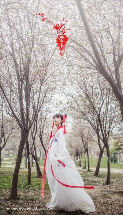 Thiếu nữ Hàn Quốc xinh đẹp với mùa xuân 5