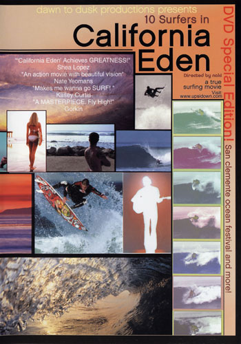 10 Surfers in California Eden surf movie