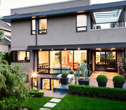 Fotos de jardin jardines de casas con balcones for Jardines verticales en balcones