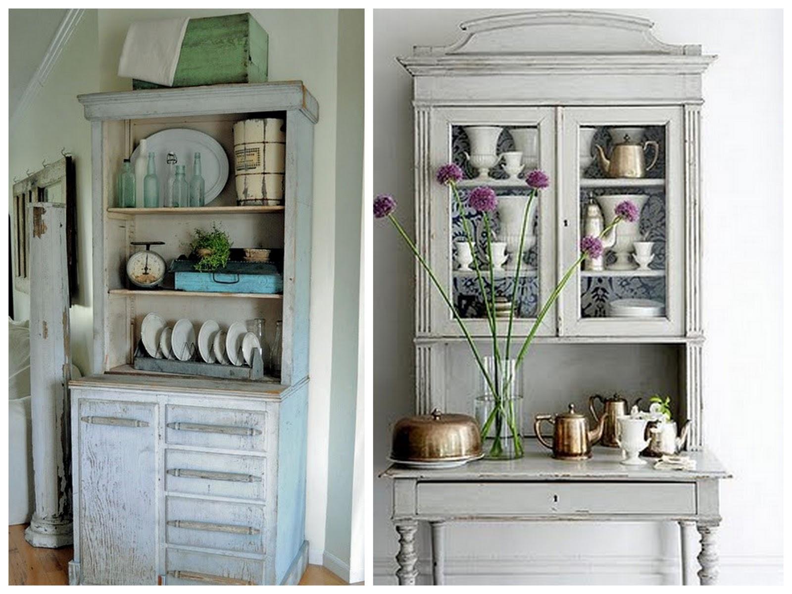 Alacenas para todos los gustos amor por la decoraci n - Cabeceras pintadas en la pared ...