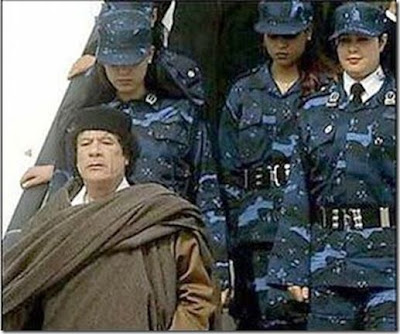 muammar al gaddafi women. Muammar al-Qaddafi#39;s