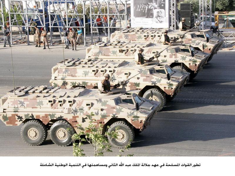 Fuerzas Armadas de Jordania Jordan+Ratels