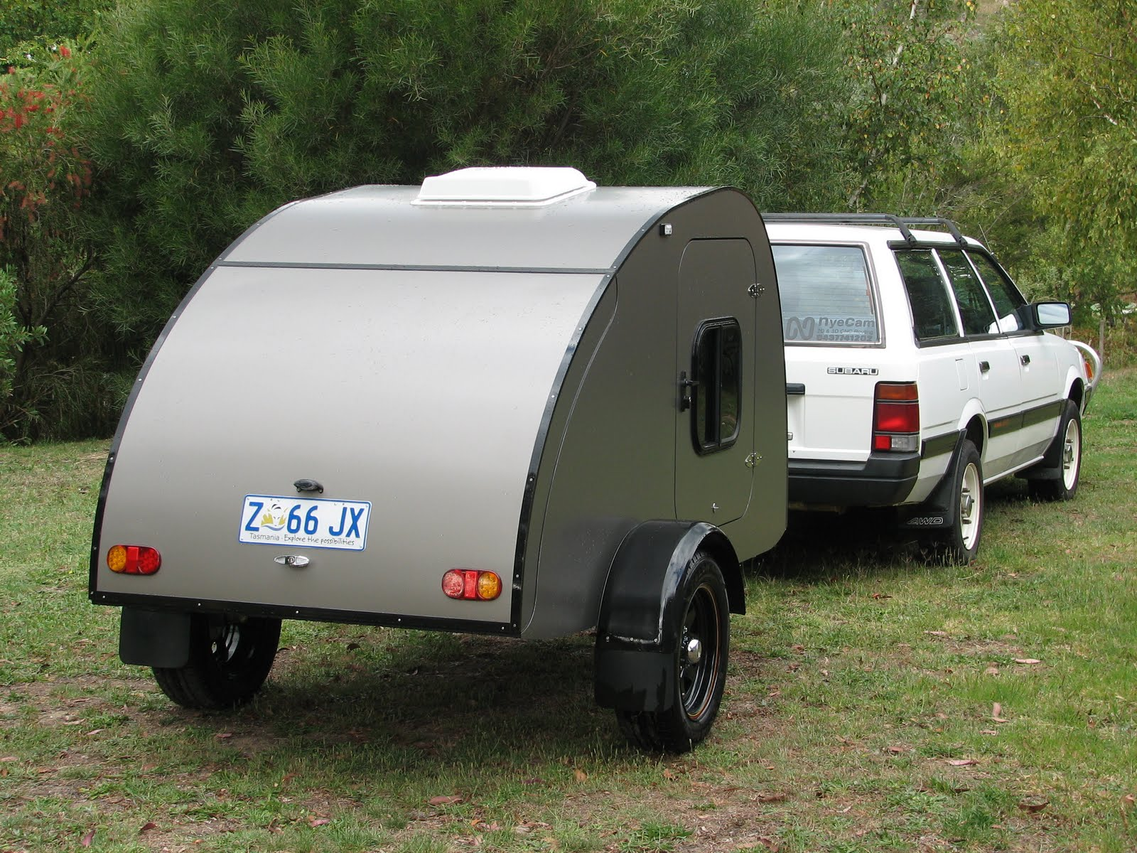 Amazing The Tail Feather Camper  A Modular Camper That Can Be Taken Apart