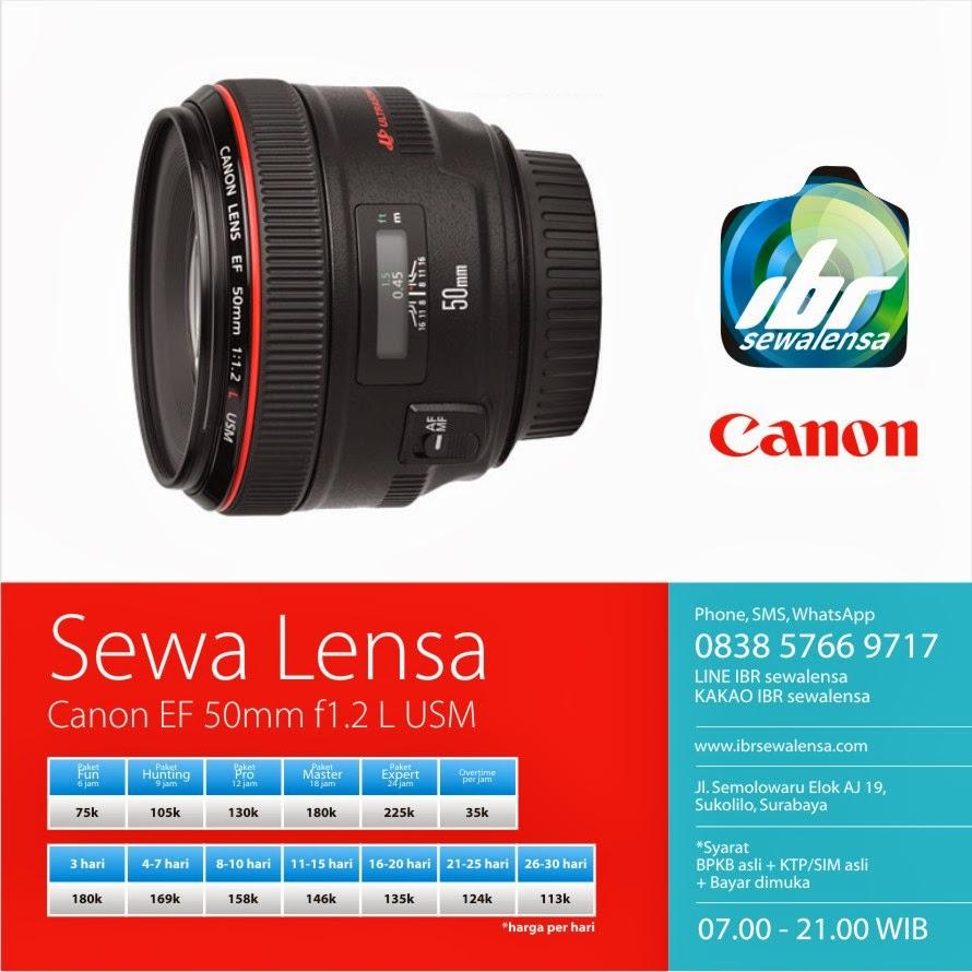 Canon 50 mm F1.2 L USM